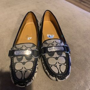 Coach size 7.5 loafers in excellent condition